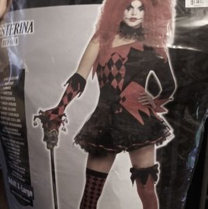 Xl Jesterina Halloween costume